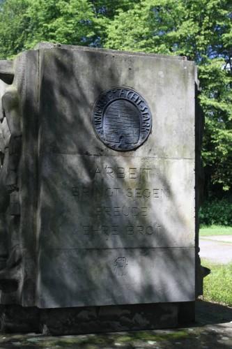 Denkmal im Lindener Volkspark