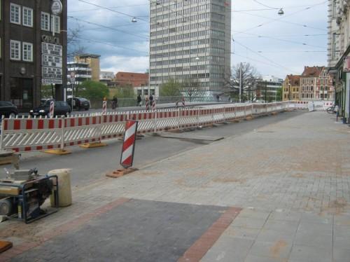 Auch heute legt man dem Lindener noch Steine in den Weg nach Hannover