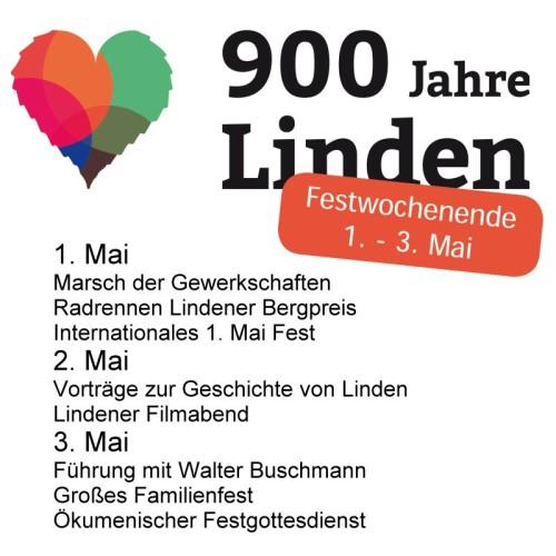 Festwochenende 900 Jahre Linden