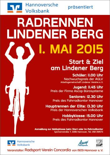 Radrennen Lindener Berg 2015
