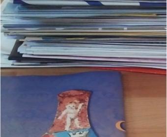 Papier sammeln