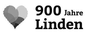 900 Jahre Linden graustufen