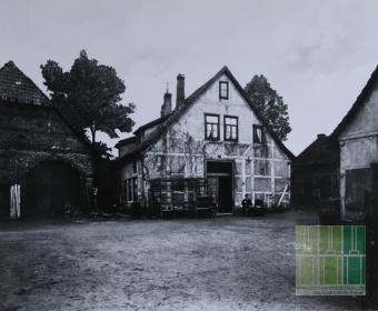 Der Hemmesche Hof 1897 - Davenstedter Straße 20 (Bild: Geschichtswerkstatt im FZH Linden)