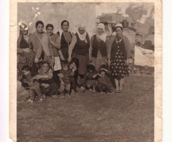 Familienfoto aus der Sammlung von Frau Sevim Keske