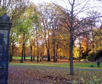 Von-Alten-Garten im Herbst