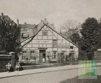 Eleonorenstraße - Zur Sonne 1911