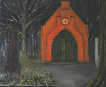 34 - Nachts auf dem Bergfriedhof