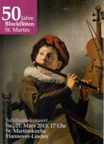 Jubiläums-Konzert des Block- u. Querflöten-Ensembles St. Martin