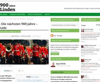 Linden – die nächsten 900 Jahre