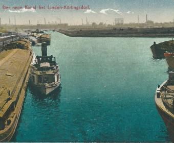 Kanalbecken, um 1920