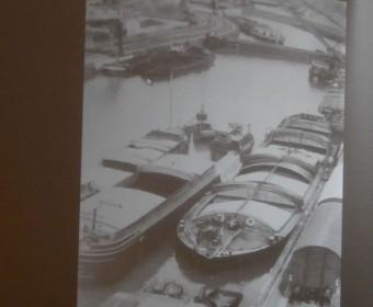 Lindener Hafen, ältere Aufnahme (Foto: Städtische Häfen)