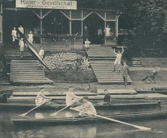 Ruder-Gesellschaft Hannover-Linden, um 1915