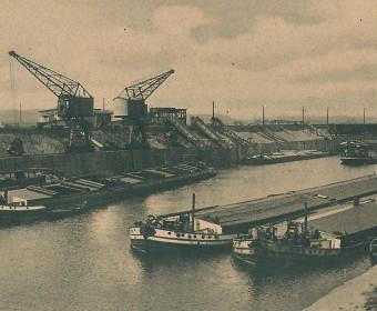 Misburger Hafenanlagen, um 1930