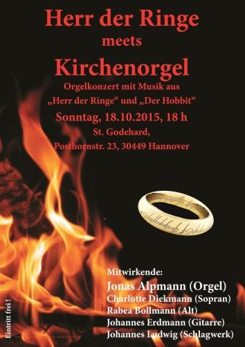 Herr der Ringe meets Kirchenorgel