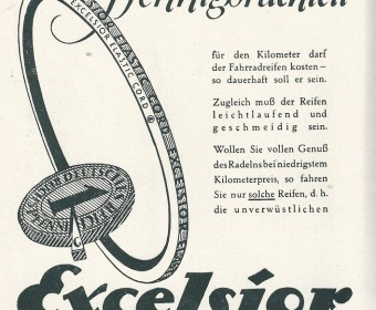Werbeanzeige - Führer, herausgegeben aus Anlass der Deutschen Schwimm-Meisterschaft5en 1927.