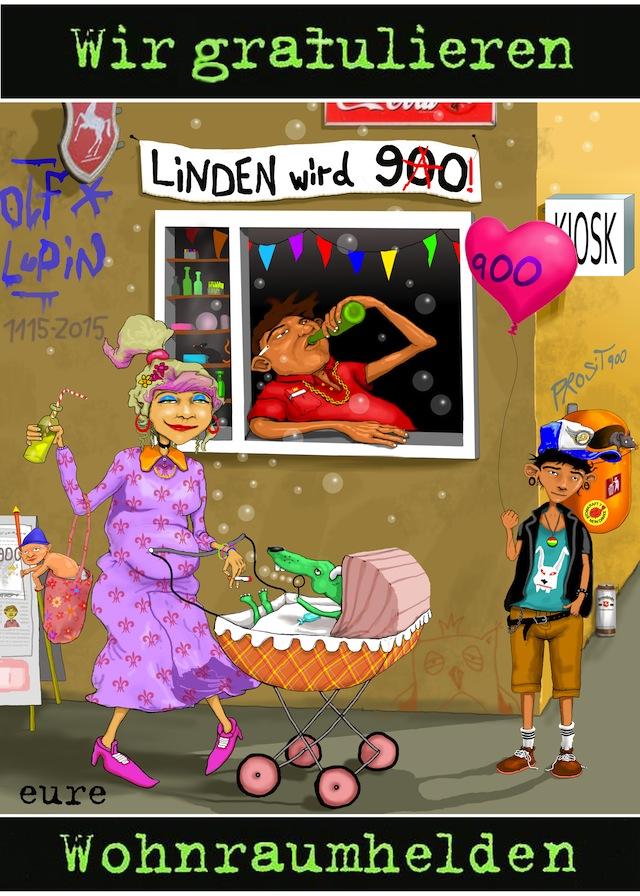 Wir gratulieren Linden